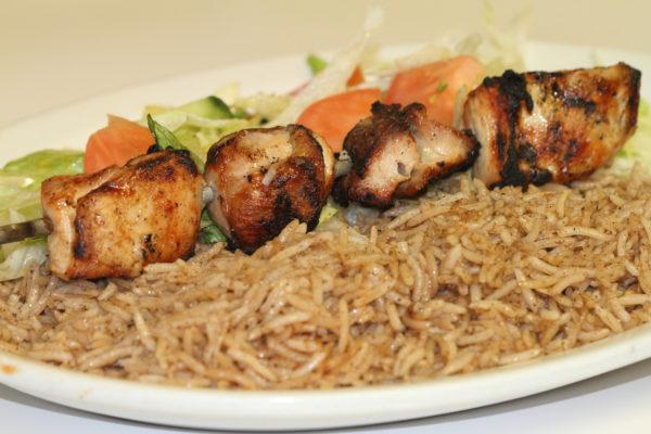 Chicken Kebab Plate 1
