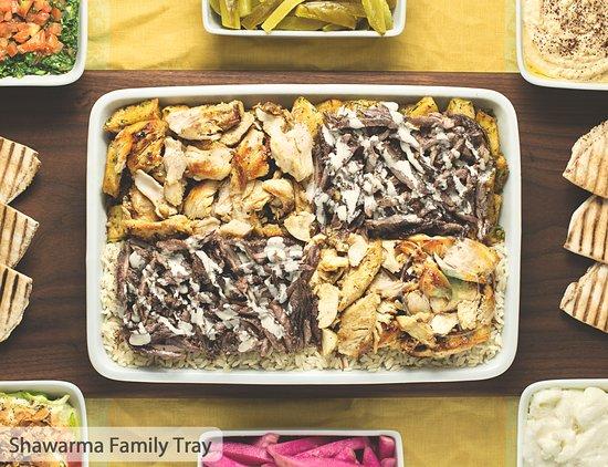 Golden Fingers Shawarma Feast (Serves 2-4) 1