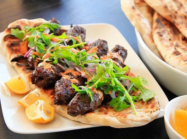 Kofta Kebab Plate 1