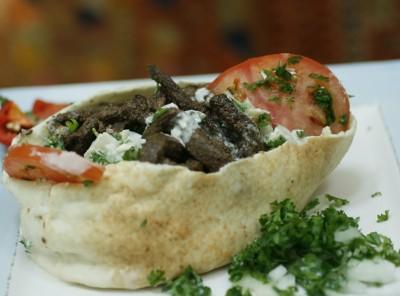 Beef Shawarma Sandwich 1