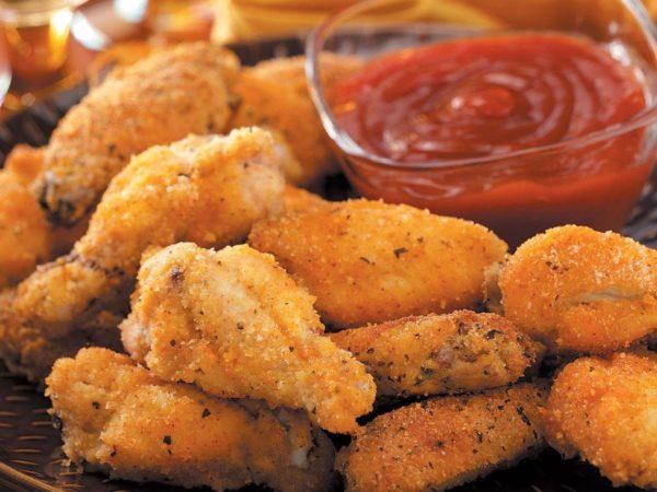 Chicken Breaded Wings 1