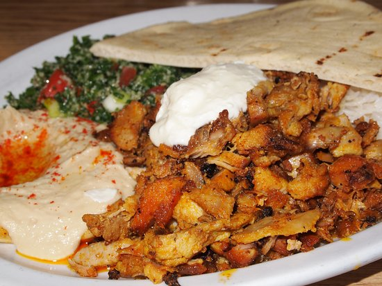Chicken Shawarma Plate 1