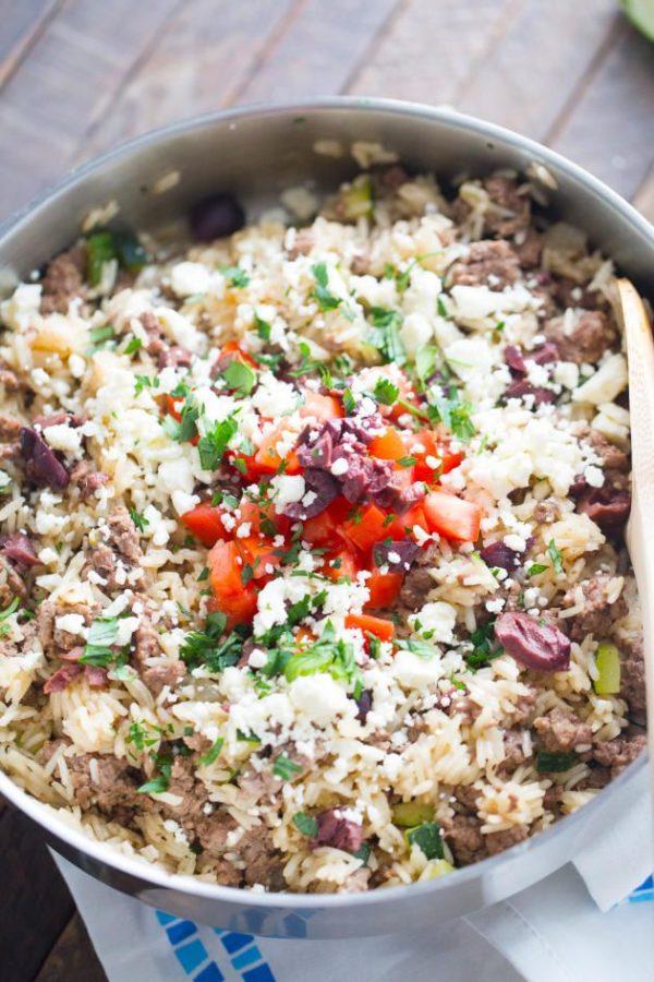 Gyro Fried Rice 1