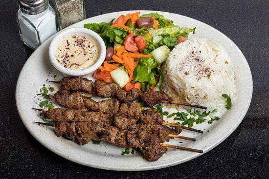 Lamb Kebab Plate 1
